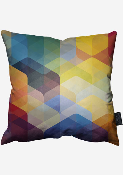 Cuben Curved Fall Pillow