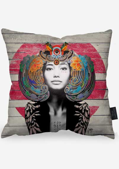 Red Sphinx Pillow